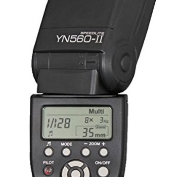 Rent Yongnuo YN-560 II Speedlight Flash for Canon and Nikon