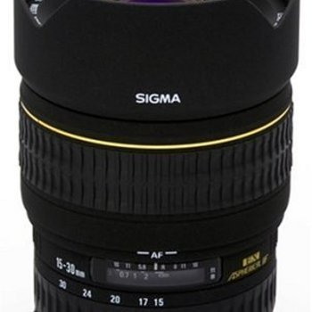 Rent Sigma 15-30mm f/3.5-4.5 EX DG IF (for Canon) Aspherical Ultra Wide Angle Zoom Lens