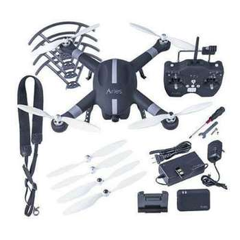 Rent Aries BlackBird X10 Quadcopter Drone with built in 16MP Still/Cine Camera