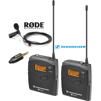 Rent Sennheiser/Rode Lavalier Mic Kit