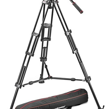 Rent Manfrotto 502/546BK Tripod