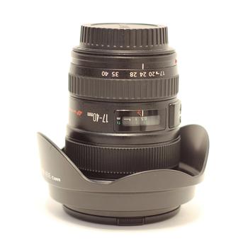Rent Canon 17-40mm EF f/4.0 L USM