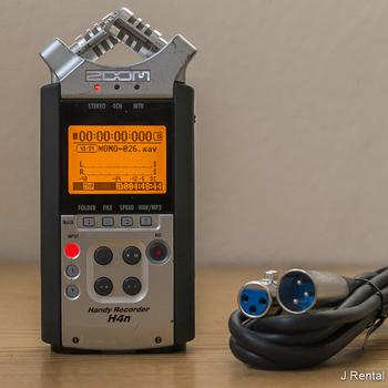 Rent Zoom H4N Handy Portable Digital Recorder + Lav Mic
