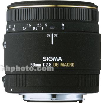 Rent Sigma 50mm f/2.8 EX DG Macro Autofocus Lens