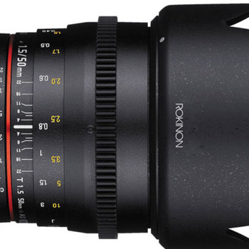 Rent Rokinon 50mm T1.5 Cine Lens