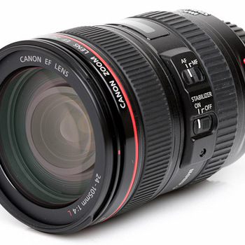 Rent Canon 24-105mm  f/4.0L IS USM lens