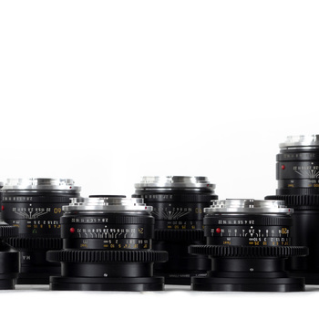 Rent Cine-modded Leica-R lenses (EF mount)