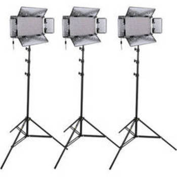 Rent Genaray SpectroLED Studio 500 Daylight LED Three Light Kit