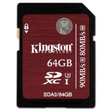 Rent Kingston Digital 64GB SDXC (C)