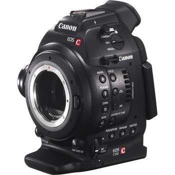Rent Canon C100 Digital Cinema Camera