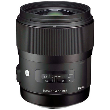 Rent Sigma 35 1.4 HSM for Canon EF