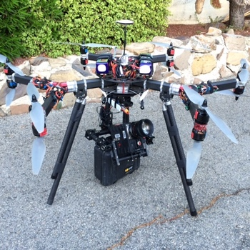 Rent 6K Dragon Drone incl. Camera and Movi - FAA Approved