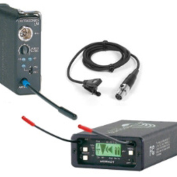 Rent Lectrosonics 201 Wireless Transmitter, Receiver and Mic Kit Block 21