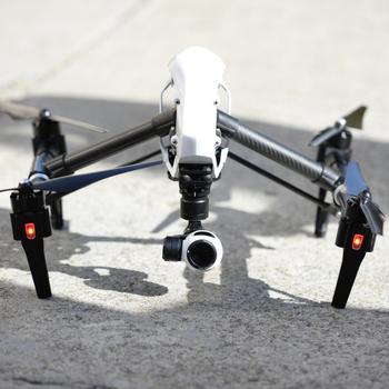 Rent DJI Inspire 1 Quadcopter 4k video