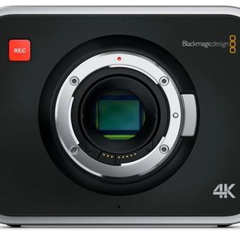 Rent Blackmagic Production Camera 4K (EF Mount)
