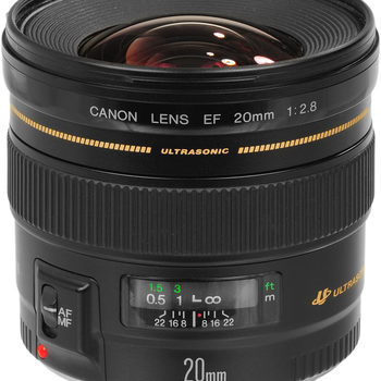 Rent Canon EF 20mm f/2.8 USM Wide-Angle Lens
