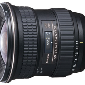 Rent Tokina 11-16mm f/2.8 AT-X 116 Pro DX for Canon