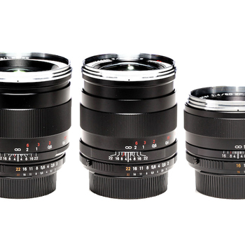 Rent Zeiss ZF.2 5 Lens Set - 18-85mm Canon / Nikon mount