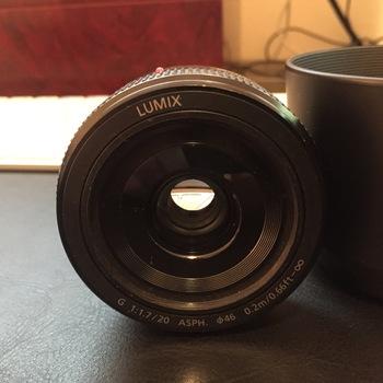 Rent Lumix f/1.7 20mm Micro 4/3 Lens