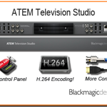 Rent Blackmagic ATEM TVS Six Channel Video Switcher