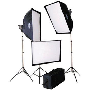 Rent Savage 1500W 3-Point Lighting Kit