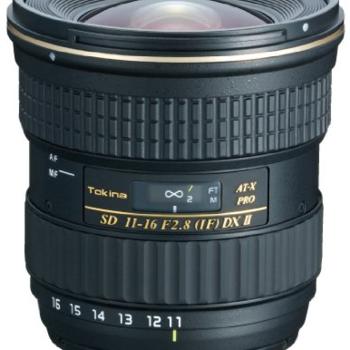 Rent Tokina 11-16mm f/2.8 AT-X PRO DX for Nikon