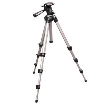 Rent Manfrotto Aluminum Tripod and Photo-Movie Head with Quick Release