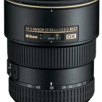 Rent Nikon 17-55mm f/2.8G AF-S