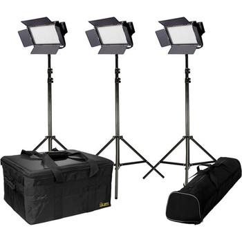 Rent ikan IFB576 Bi-Color 3-Point LED Light Kit