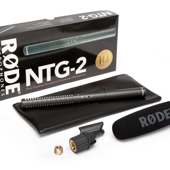 Rent Rode NTG-2 Shotgun Microphone/Mic with Deadcat