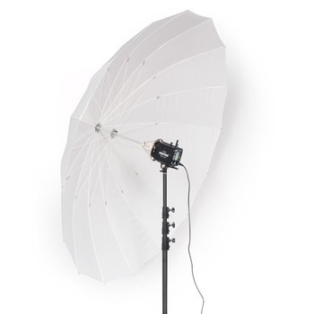 "Rent Paul Buff White PLM Umbrella (86"")"