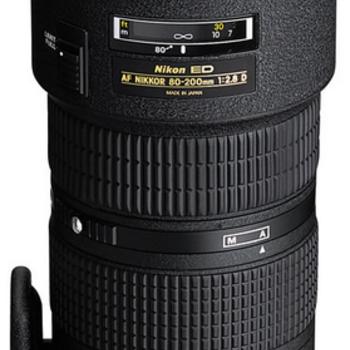 Rent Nikon 80-200mm f/2.8 AF-D