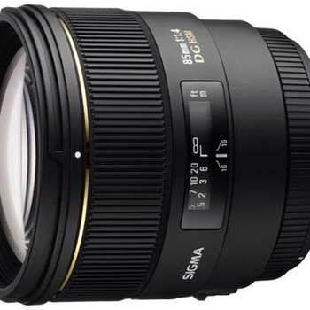 Rent Sigma 85mm f/1.4 EX Lens (Canon EF mount)