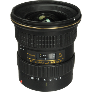 Rent Tokina 11-16mm f/2.8 EF Wide angle lens