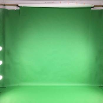 Rent Green and White Screen Studio With Chroma-key Effects
