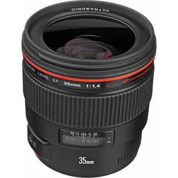 Rent Canon EF 35mm f/1.4L USM Lens