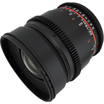 Rent Rokinon 16mm Cine Wide Angle T2.2
