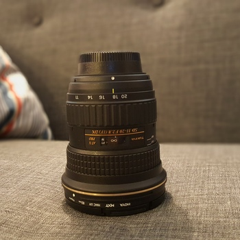 Rent Nikon Tokina 11-16mm f/2.8 AT-X116 Pro DX II