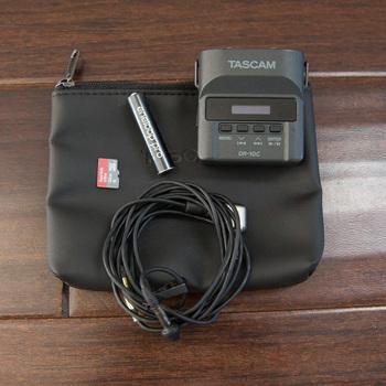Rent Tascam DR-10C Audio Package