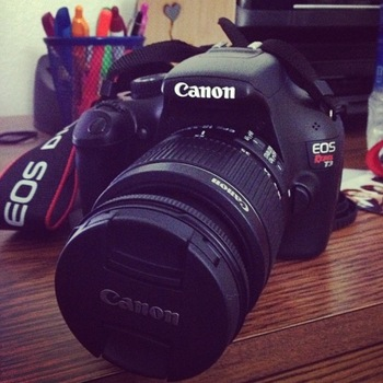 Rent Canon EOS Rebel T3 Digital SLR Camera with EF-S 18-55mm f/3.5-5.6 IS Lens
