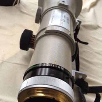 Rent Canon FD 600mm f/2.8 eos mount 1 : 4,5 set