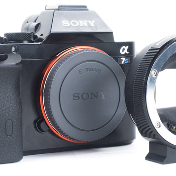 Rent Sony A7s w/EF Adapter