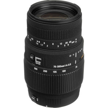 Rent Sigma 70-300mm f/4-5.6 DG Macro Lens for Canon EOS