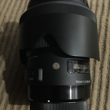 Rent Sigma 50mm f/1.4 DG HSM Art for Canon EF