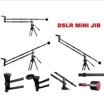 Rent Portable 4' Camera Jib  Crane w/Manfrotto Tripod