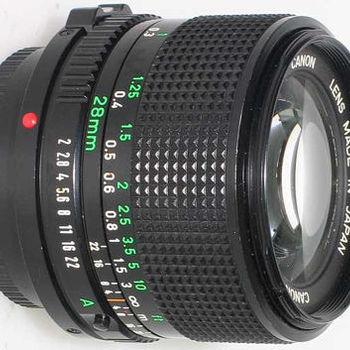Rent Canon FD 28mm f/2.8