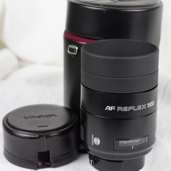 Rent Sony 500mm F8 Reflex A mount Minolta