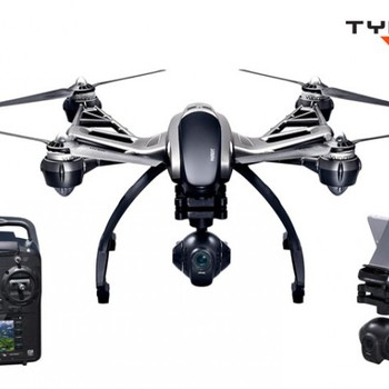Rent Yuneec Q500 4k Drone w/ Steady Grip for Short Shots