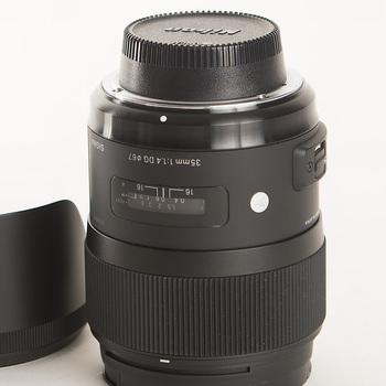Rent Sigma 35 F1.4 Art Series, Nikon mount
