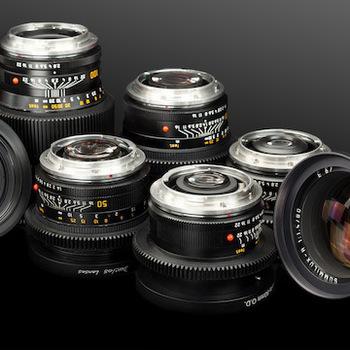 Rent Duclos Cinevised Leica R Summicron / Elmarit 6 Lens Package (19, 28, 35, 50, 90, 135)
